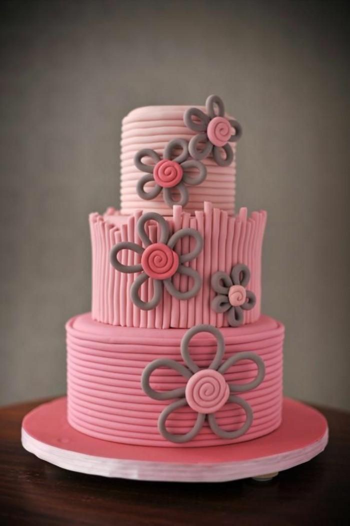 Cake Ideas For A Little Girl : 80 idees originales pour le gateau d anniversaire enfant ...