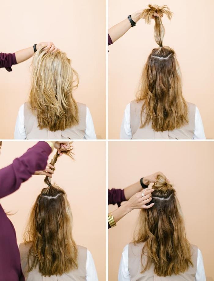 Quelle coiffure facile cheveux long vous va et comment la réaliser \u2013 67  idées!