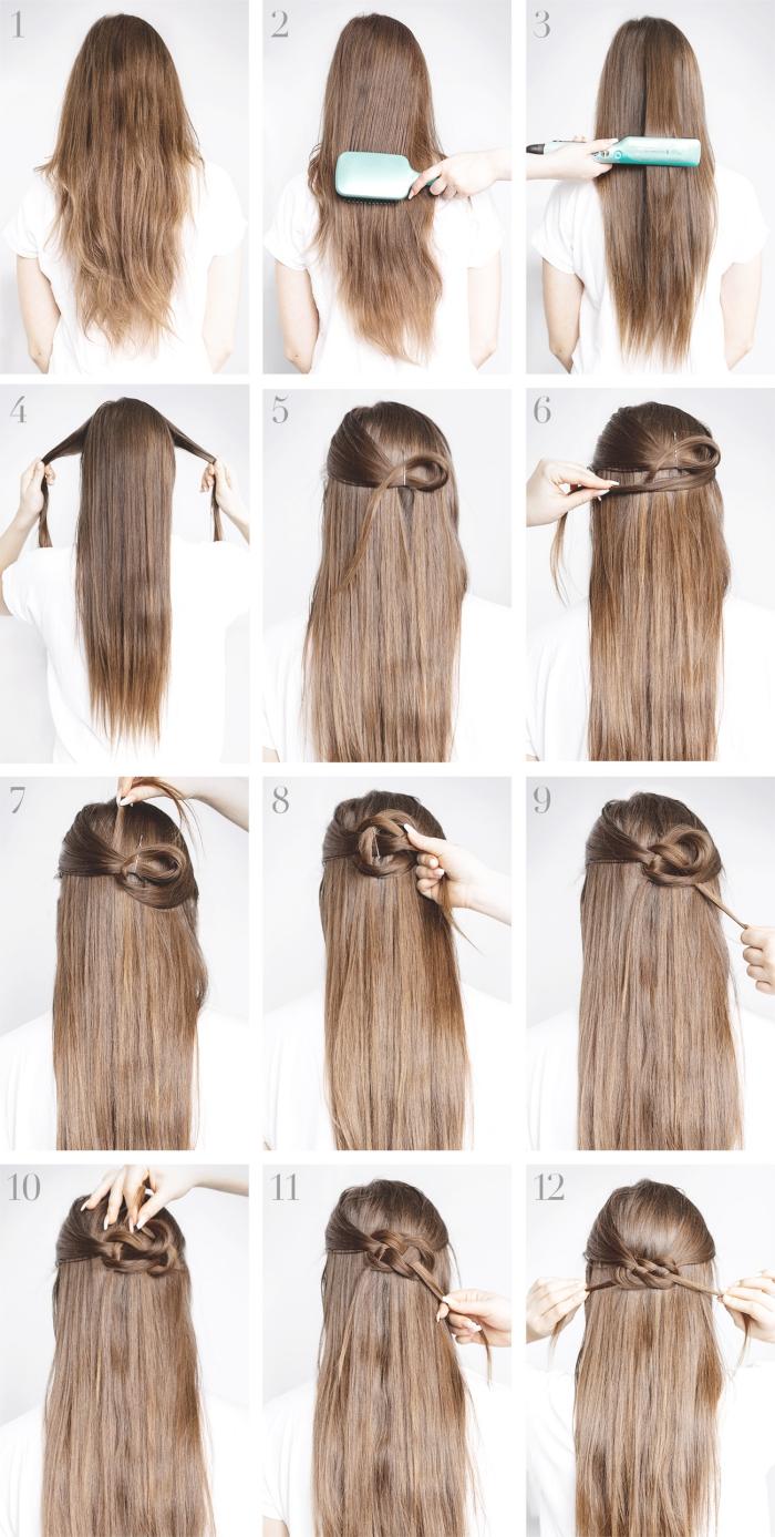 Quelle Coiffure Facile Cheveux Long Vous Va Et Comment La Realiser 67 Idees Archzine Fr