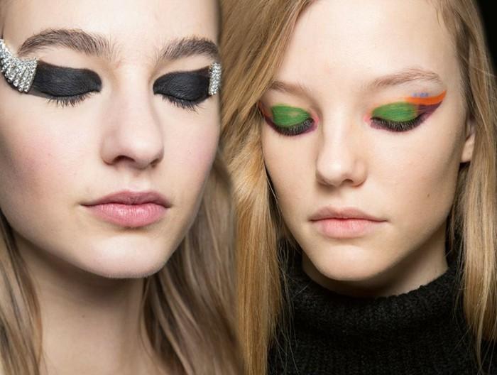une-idée-maquillage-soirée-yeux-marrons-chic-mode-jolie