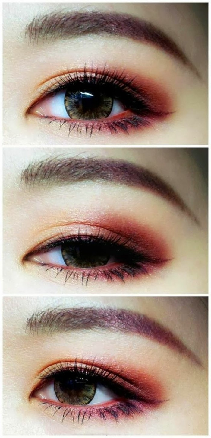 00-comment-maquillaer-les-yeux-noisettes-smokey-eyes-maron-smoey-en-rouge