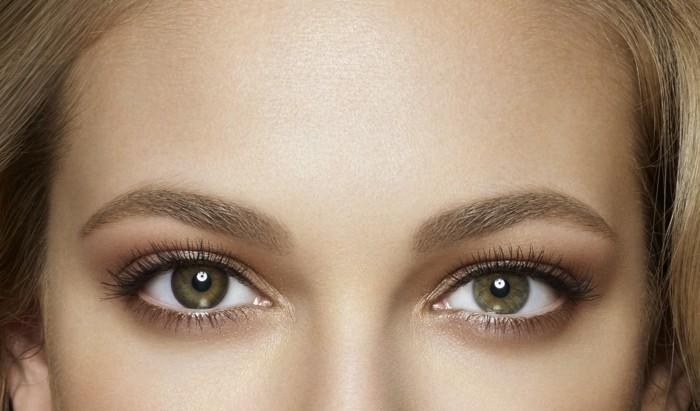 Le maquillage pour yeux marron 51 id es en photos et vid os - Maquillage naturel yeux vert ...