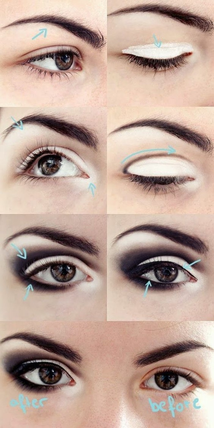 Tuto maquillage yeux marrons naturel - Maquillage naturel yeux ...