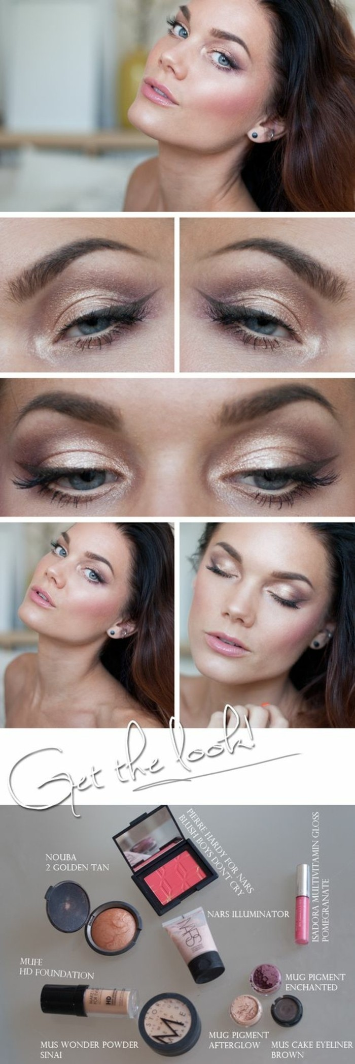 Maquillage naturel 2016 idees design de maison Idee maquillage yeux