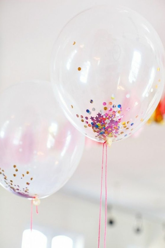 05-decoration avec des ballons transparents