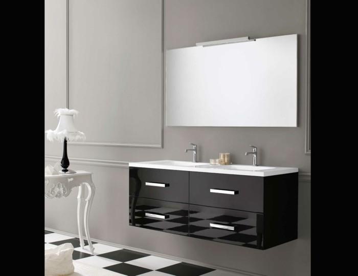 06-Salle de bain italienne en trois couleurs