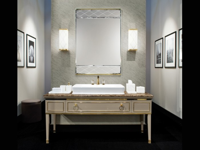 07-Salle de bain italienne en noir et en gris