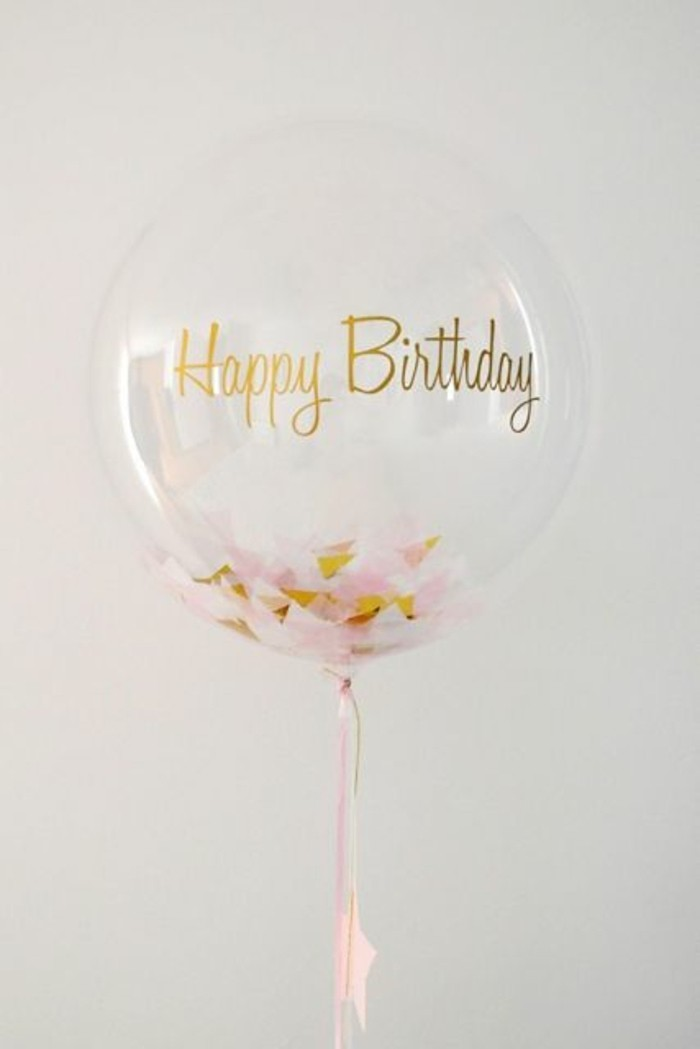 07-decoration avec des ballon - Bonne anniversaire