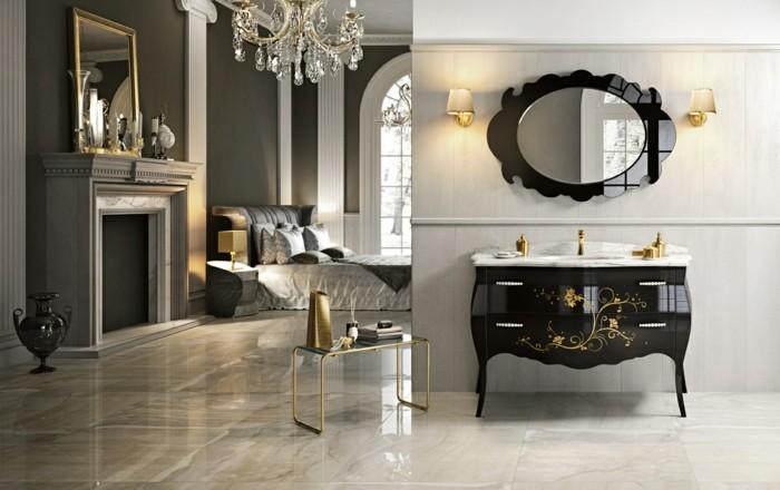 08-Salle de bain italienne aux motifs en noir