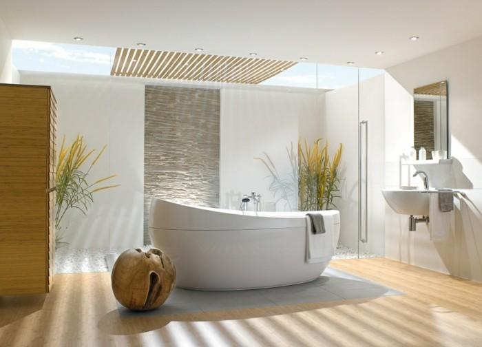 09-Salle de bain italienne en blanc et en beige