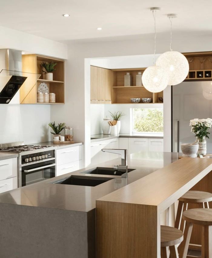 1-comment-aménager-la-cuisine-selon-les-tendances-meubles-en-bois-clair-bar-de-cuisine