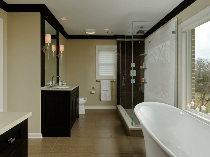 la d co salle de bain en 67 photos magnifiques. Black Bedroom Furniture Sets. Home Design Ideas
