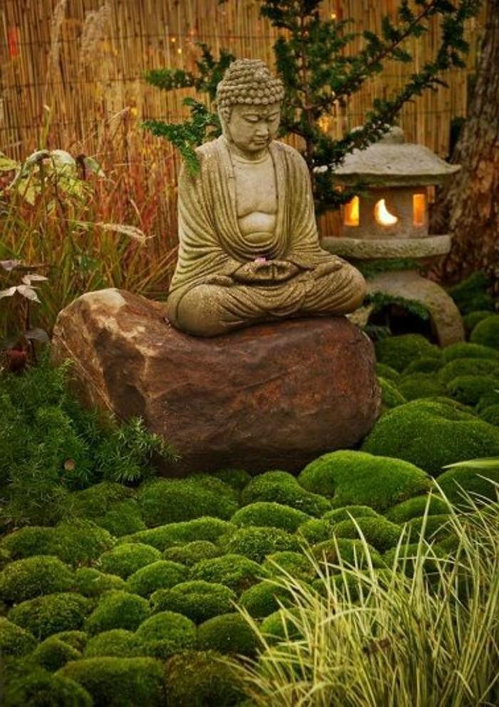 10-Sculpture de jardin un Boudha