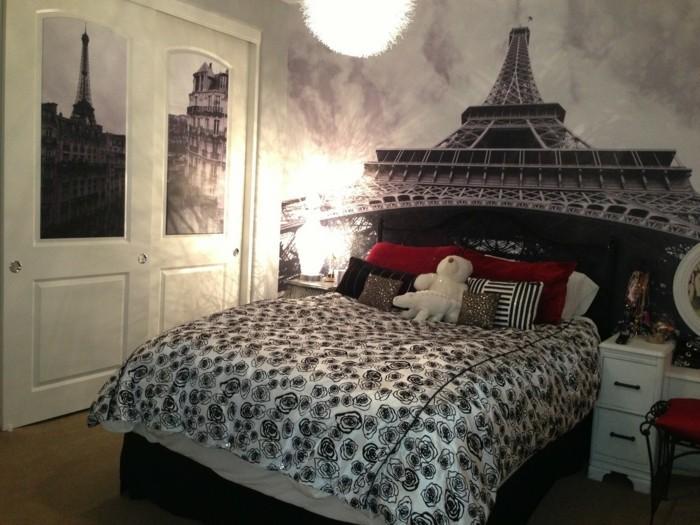 11.idée-de-déco-chambre-thématique-inspirée-de-l'amour-pour-la-ville-de-paris
