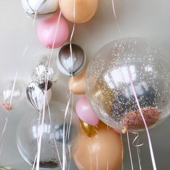 14-bouquet ballons differentes couleurs