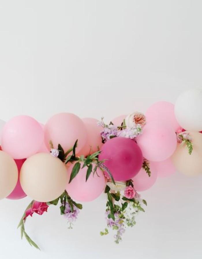 15- bouquet ballons en rose