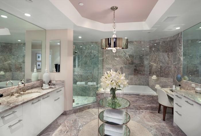 19-Leroy Merlin salle de bain aux fleurs