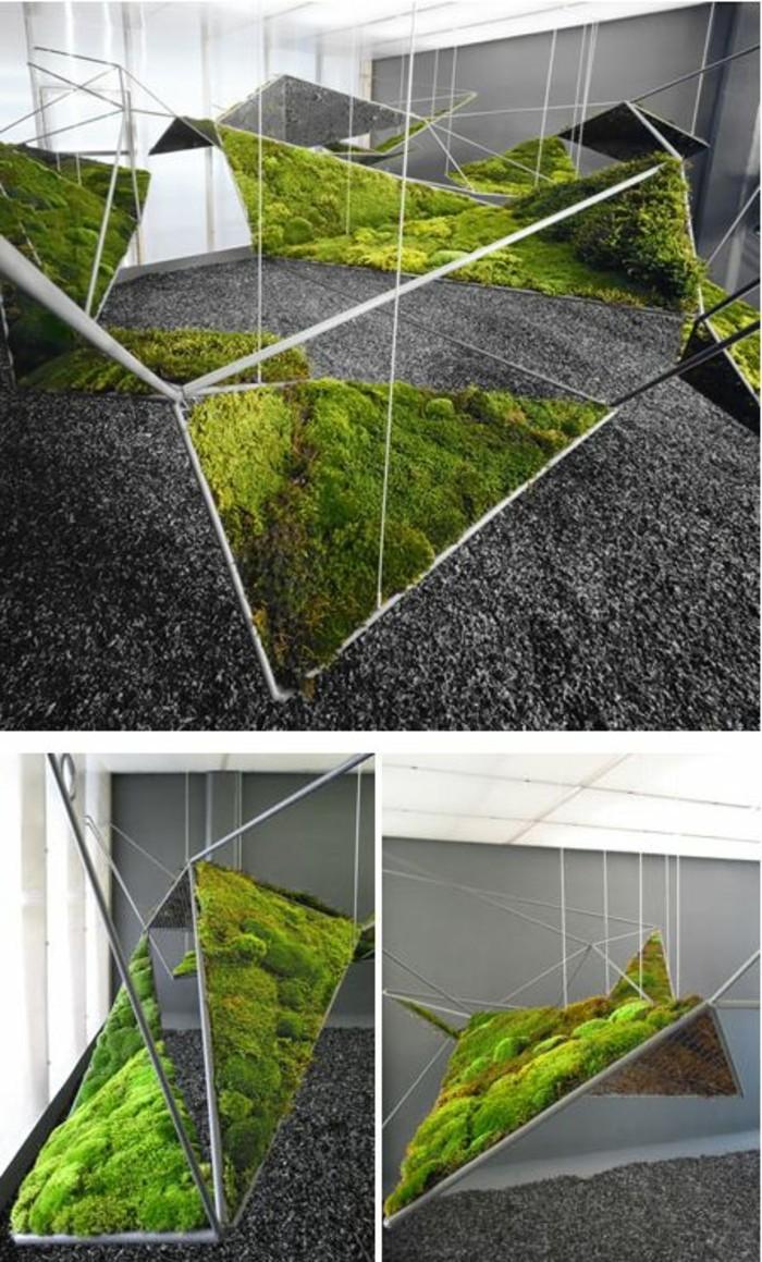 19-Sculpture de jardin - verdure