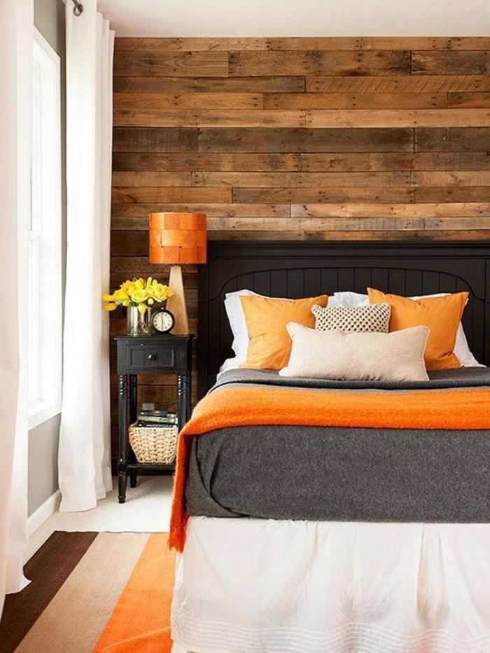 Avec quelle couleur associer le gris plus de 40 exemples for Quelle couleur dans une chambre feng shui