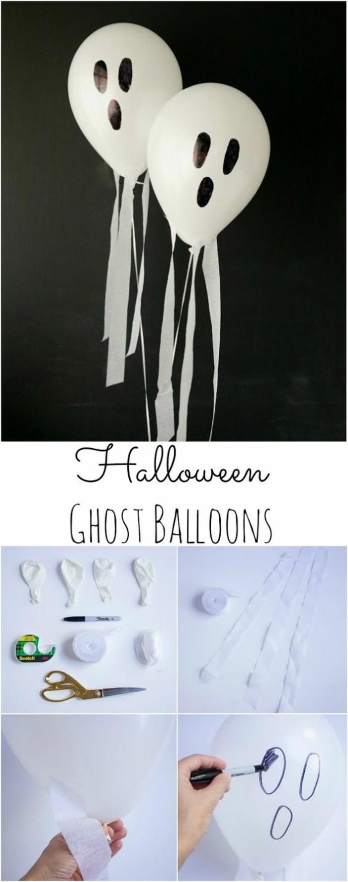 20-decoration ballons pour Halloween