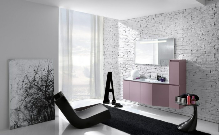24-Dimension douche italienne en noir et en gris