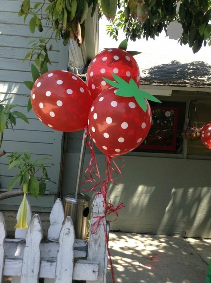 26-bouquet ballons en forme de fruits