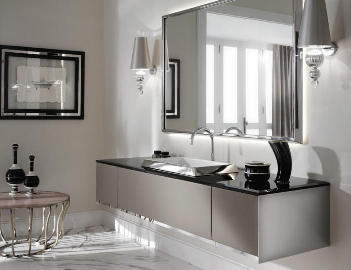 27-Exemple salle de bain en gris et en noir
