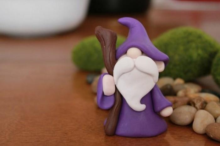 31-Sculpture pour jardin - un nain