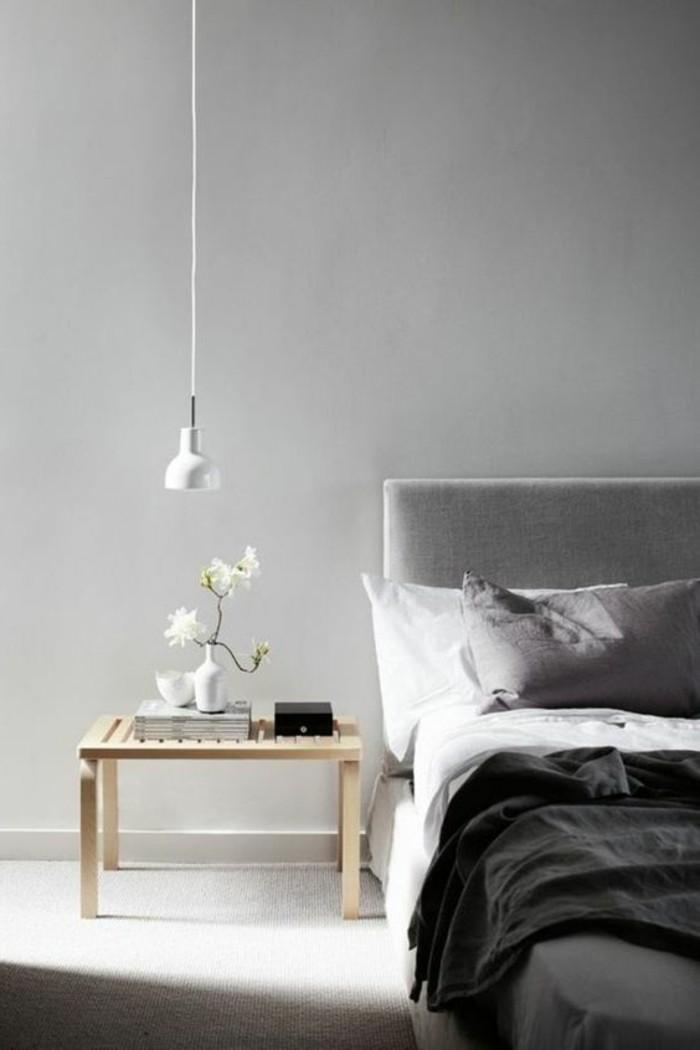 Chambre Gris Perle Et Blanc. Top Peinture Gris Clair Salon Et