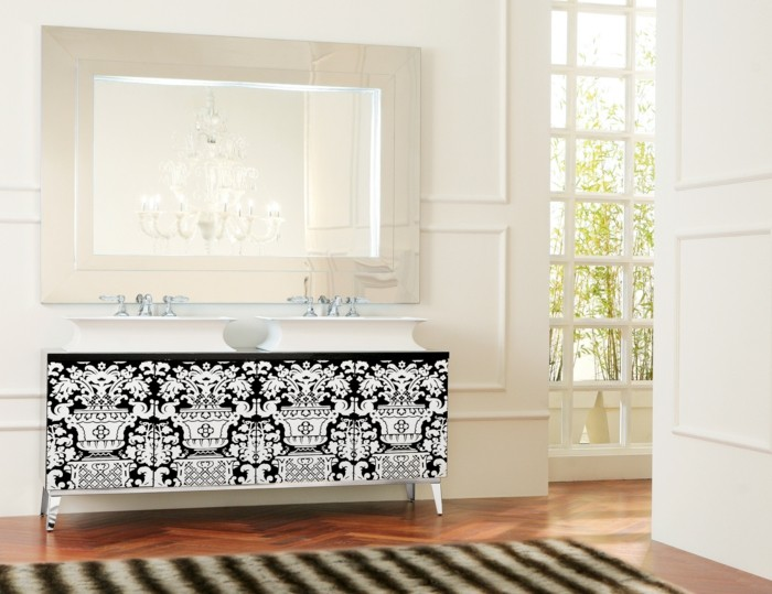 34-Exemple de salle de bain au parquet