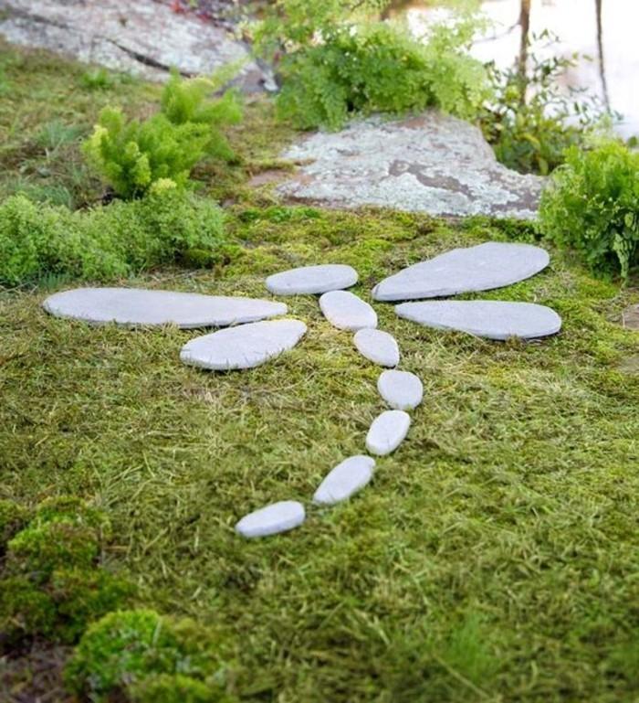 36-Sculpture pour jardin - un papillon