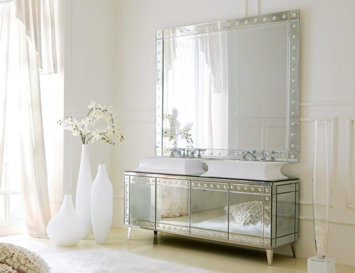 37-Exemple de salle de bain tout en blanc
