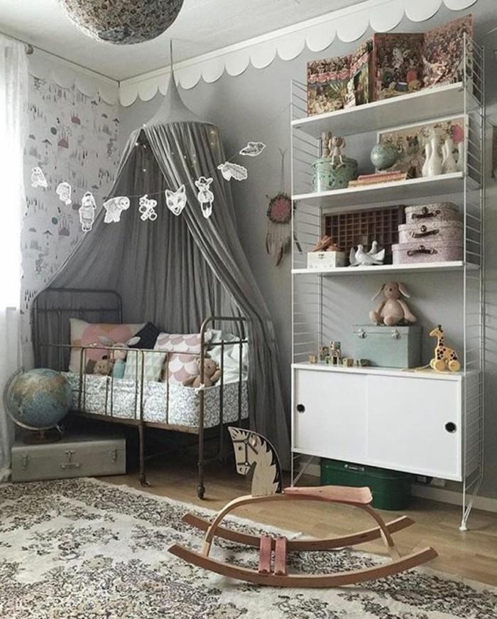Id es de d co chambre adulte et b b - Deco vintage chambre bebe ...
