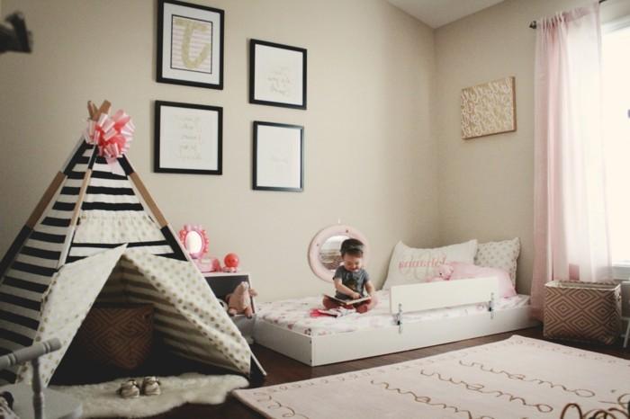 39jolie-chambre-bébé-style-montessori-lit-tapis