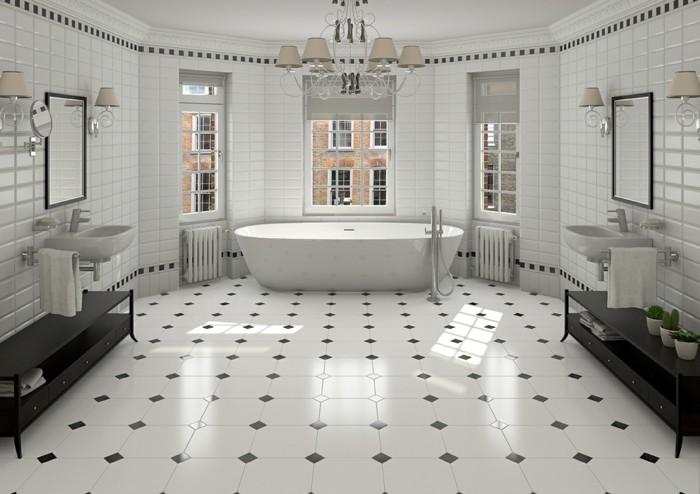 déco-salle-de-bain-spacieuse-magnifique-idée-carrelage-salle-de-bain-vintage-en-blanc-salle-de-bain-luxueuse