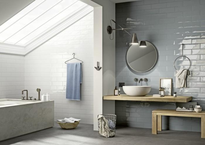 modele-salle-de-bain-masculin-idée-carrelage-salle-de-bain-en-bleu-carrelage-en-grès-cérame