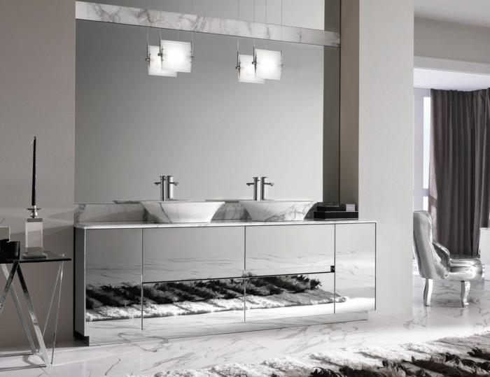 41-Modele de la salle de bain en gris
