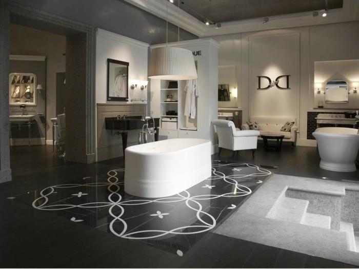 42-modele de la salle de bain large