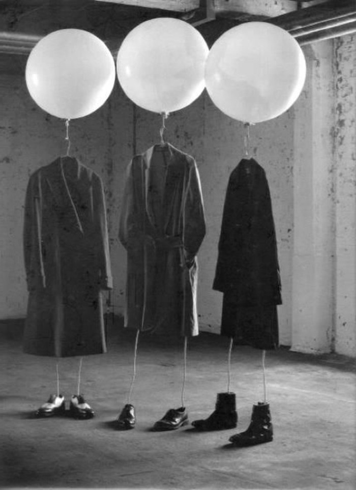 43-decoration ballons en forme de figures humaines