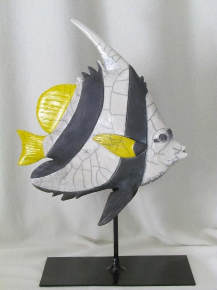 53-Sculpture exterieure - poisson