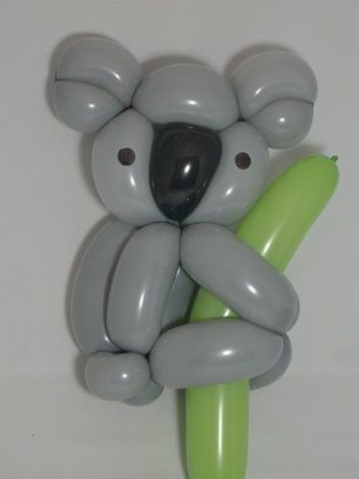 55-decoration ballons en forme de coala