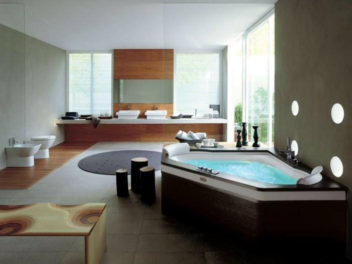 59-Dimension douche italienne en blanc et en marron