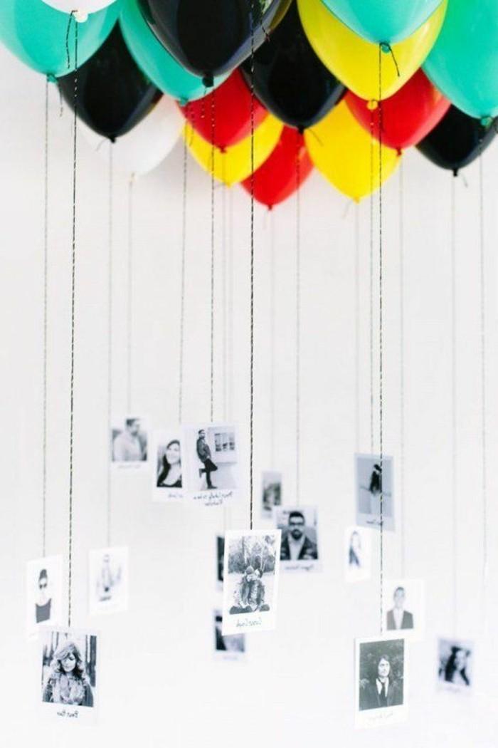66-ballons pour anniversaire avec des photos