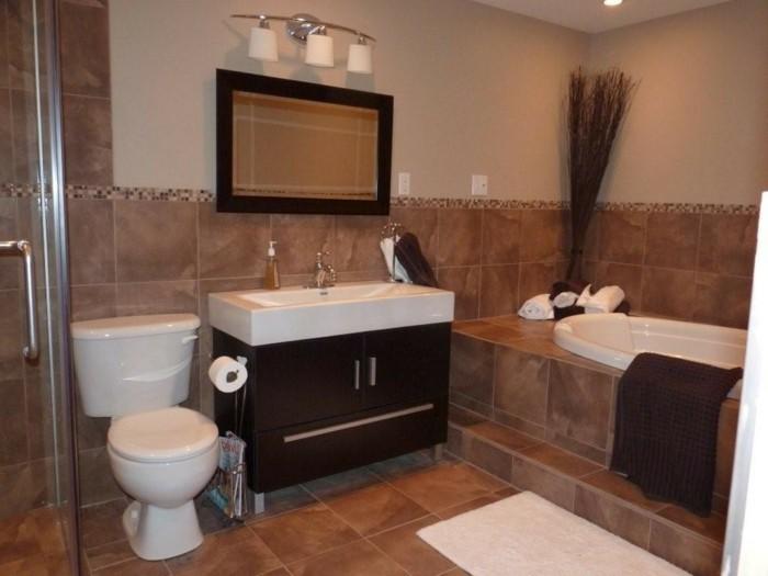 Salle de bain italienne plus de 60 propositions en photos - Faire une douche a l italienne ...