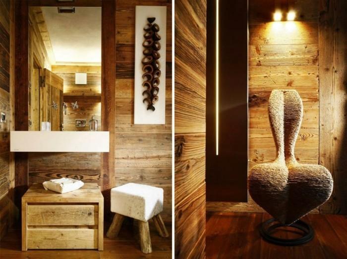 70-Exemple de la salle de bain en bois