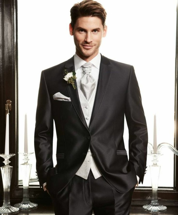 admirable-idée-pour-le-costume-mariage-sur-mesure-le-noire
