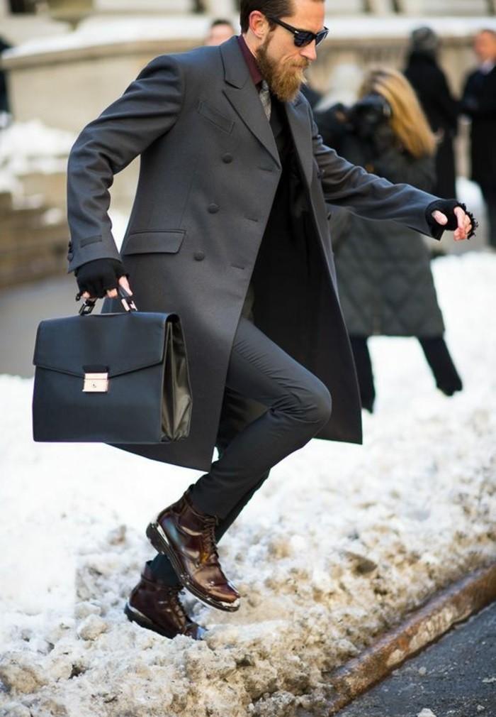nouveau pas cher vif et grand en style en ligne 60 variants pour porter le manteau pour homme avec du style ...