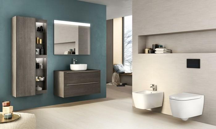 bandeau-lumineux-miroir-salle-de-bain-roca-meubles-en-gris-foncé-sol-en-parquet