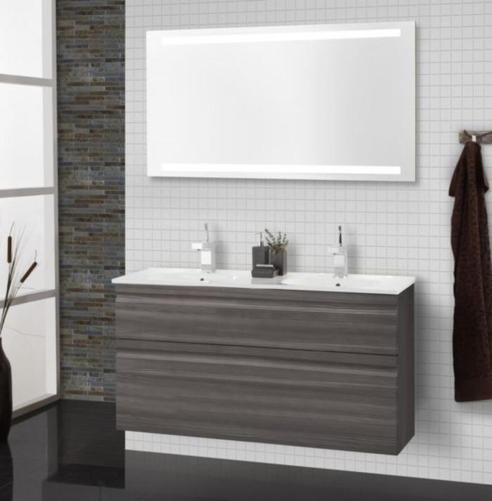 bandeau-lumineux-salle-de-bain-comment-eclairer-la-salle-de-bain-meubles-en-bois-foncé