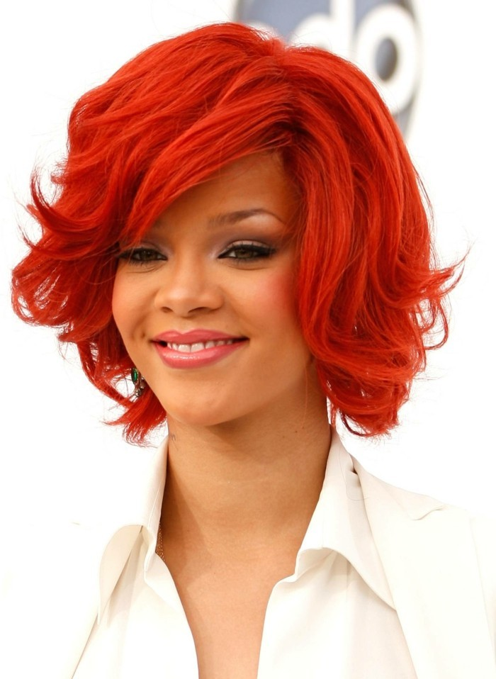 Couleur Cheveux Rouge Quelle Nuance Choisir